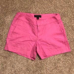 Banana Republic pink shorts